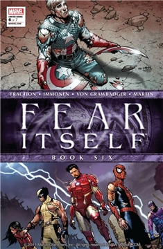 FEAR ITSELF #6 POSTER