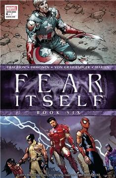 FEAR ITSELF #6 POSTER