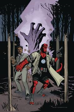 HELLBOY AND THE BPRD 1955 SECRET NATURE ONE SHOT (2017)