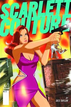 SCARLETT COUTURE #4 (OF 4) SUBSCRIPTION TAYLOR (2015)