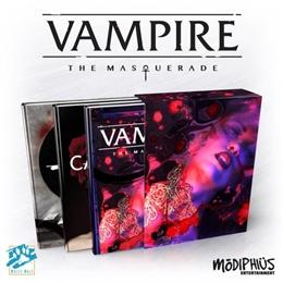 VAMPIRE: THE MASQUERADE 5TH ED SLIPCASE SET