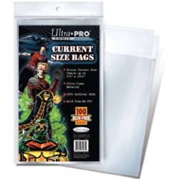 ULTRA PRO CURRENT SIZE COMIC BAGS (OL)