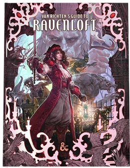 VAN RICHTEN'S GUIDE TO RAVENLOFT ALTERNATE COVER