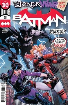BATMAN #98 CVR A DAVID FINCH (JOKER WAR) (2020)