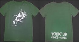 WEC T-SHIRT ARMY GREEN L