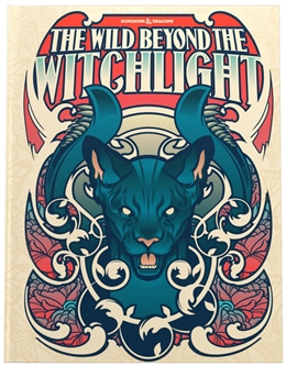 D&D NEXT THE WILD BEYOND THE WITCHLIGHT: A FEYWILD ADVENTURE ALTERNATE COVER LIMITED EDITION