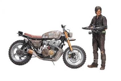 WALKING DEAD TV DIXON W/NEW BIKE AF BOX SET CS (Net)