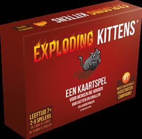 EXPLODING KITTENS (NEDERLANDSTALIGE VERSIE)