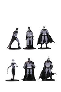 BATMAN BLACK & WHITE BLIND BAG MINI FIGS WAVE 3