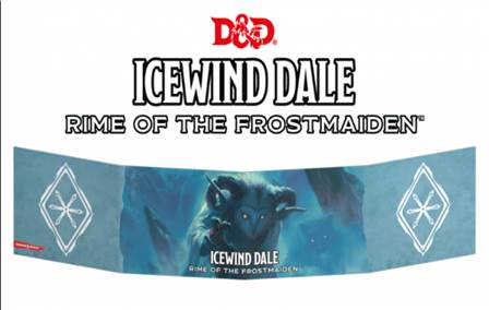 D&D NEXT ICEWIND DALE: RIME OF THE FROSTMAIDEN GM SCREEN