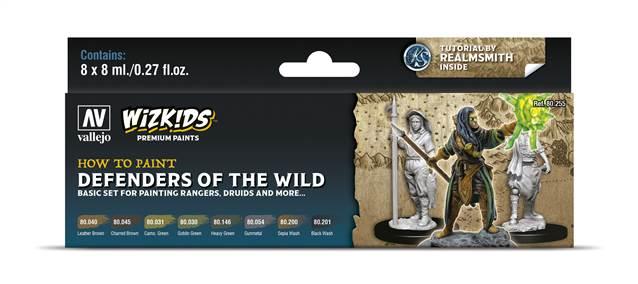 WIZKIDS SET: DEFENDERS OF THE WILD