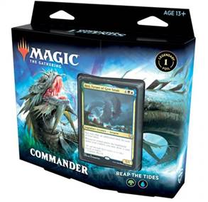 MTG TCG COMMANDER LEGENDS COMMANDER DECK REAP THE TIDES