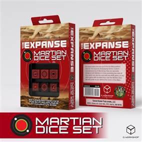 THE EXPANSE RPG MARTIAN DICE SET (WS)