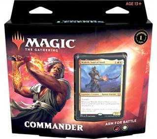 MTG TCG COMMANDER LEGENDS COMMANDER DECK ARM FOR BATTLE