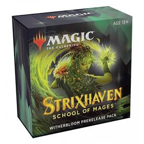 MTG - STRIXHAVEN: SCHOOL OF MAGES PRERELEASE WITHERBLOOM + 1 FREE BOOSTER