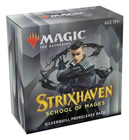 MTG - STRIXHAVEN: SCHOOL OF MAGES PRERELEASE SILVERQUILL+ 1 FREE BOOSTER